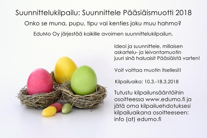 Suunnittelukilpailu: Suunnittele Pääsiäismuotti 2018