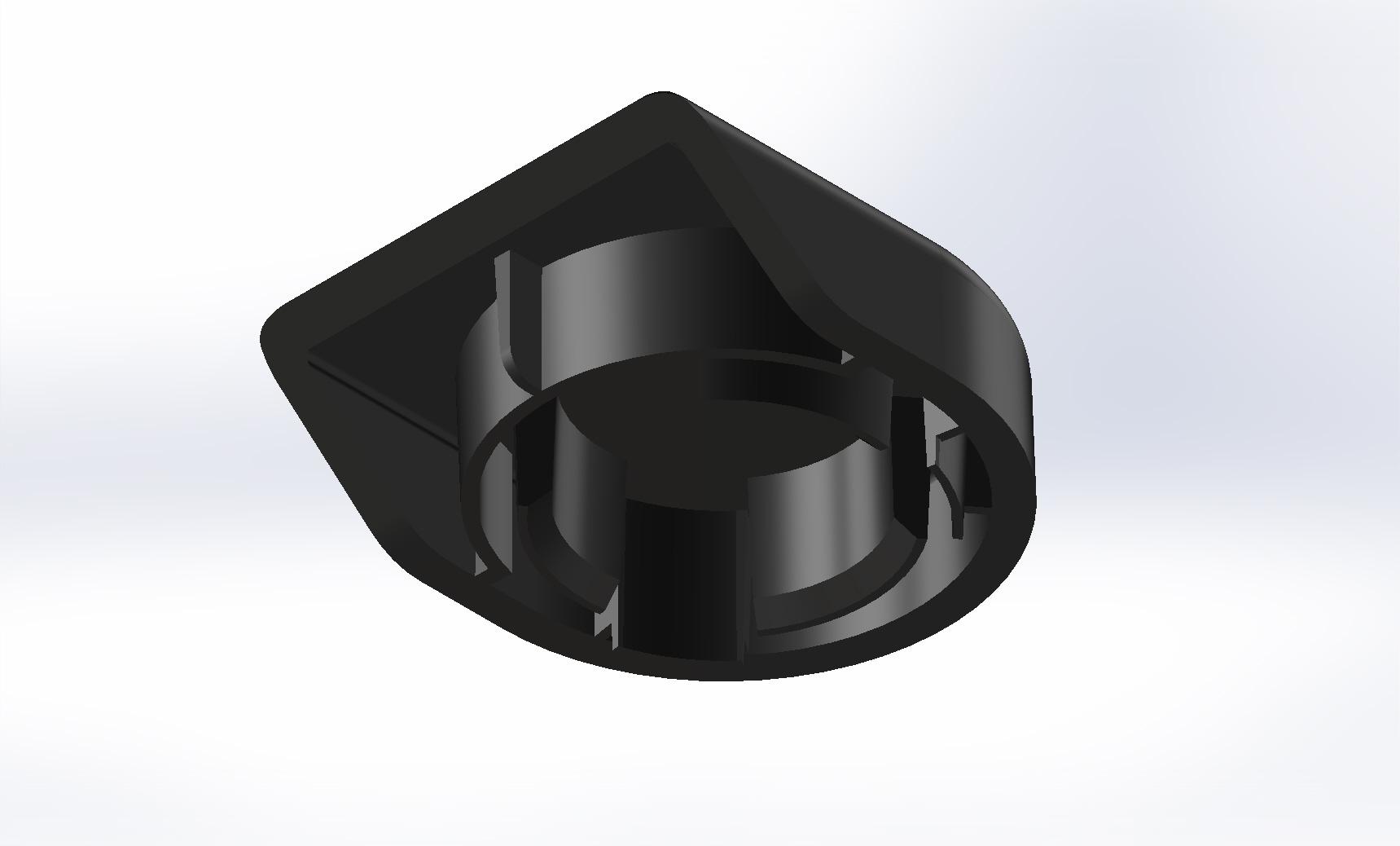 3D-tulostusmalli (varaosa autoon)