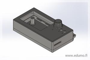 3D-tulostimen näyttöpaneelin mallinnus ja 3D-tulostus