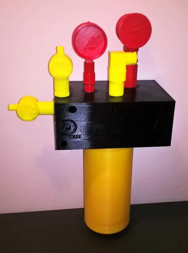 3D-tulostamalla luonnollisenkokoisia tilavaraustulostemalleja teollisuuden eri käyttökohteisiin